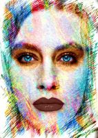 Face-portrait-abstract by YOKOKY