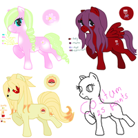 Pony adots batch 01 *closed* by Puccawitch