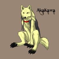 AkaKawa badge by sugarpoultry