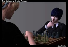 -Sims2- CheckMate by ChellyTots