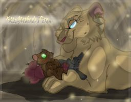 .:The Kit-Mother's Den:. by Wolf-Chalk