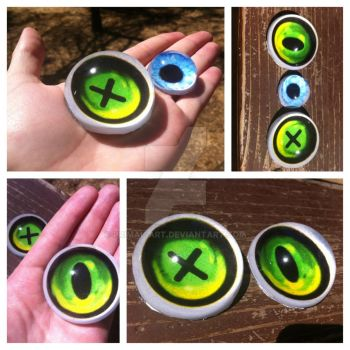 Huge follow-me fursuit eyes!!! by Primal-art