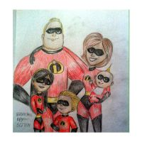 the incredibles by ashlee1203