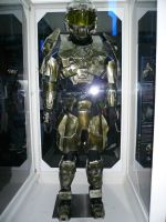 THE MASTER CHIEF FRONT by victortky