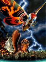 Mothra by RichardCox