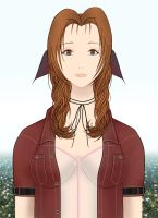 Aerith. The Promised Land. by ChibiKyuu
