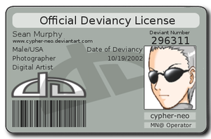 Devious License Revised by cypher-neo