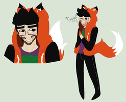 SlyFoxHound Fanart by MsLela92