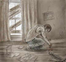 TWD Losing Sophia - Daryl Dixon by Trunk-of-monkeys