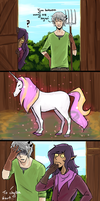 Lu: Suowik i Basil vs. konik by lady-largo