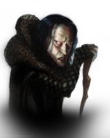 Grima Wormtongue Color by timshinn73