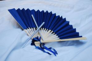 fan and hair sticks stock by DestroyingAngels