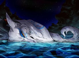 Blanur in water by ChershireHatter