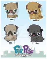 Fug Pugs Revamp by bassanimation