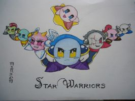 star warriors by galactacaballero