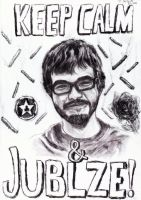 Achievement hunter: Keep calm and JUBLZE! -Ray by Jerzu97