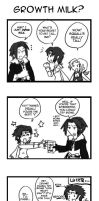 Dissidia fun: Milk by pikajo
