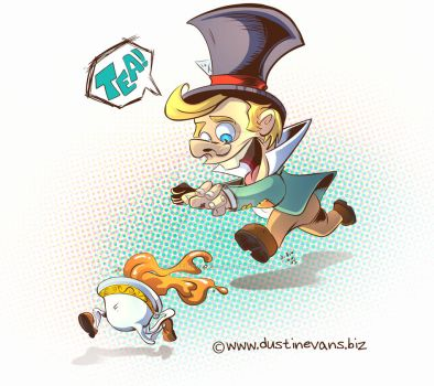 Tea Time with the Mad Hatter by DustinEvans