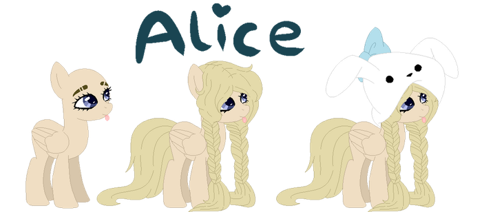 Alice [New OC] by f-loweryqueen