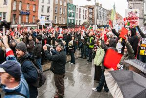 CAHWTProtest - Dame Street, Dublin by suolasPhotography
