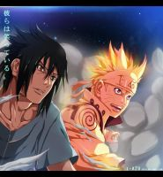 Naruto 641 - they are smiling! by i-azu