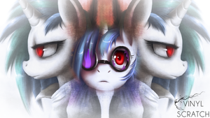 Vinyl Scratch by Mesmoir