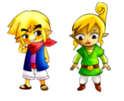 Link and Tetra Change Costume by CheloStracks