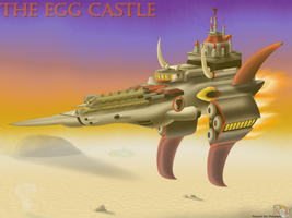 Over Open Sands - Egg Castle by Hazard-the-Porgoyle