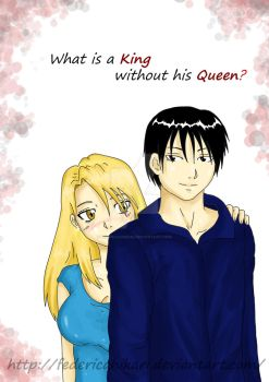 What is a king without his queen? by FedericaHikari