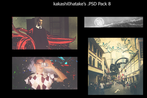 PSD Pack 8 by kakashi0hatake