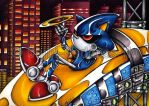 Metal Sonic has the last ring by Chibi-Goddess-Ny