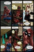 Spideypool Comic 'Never Say Never' Page 11 by jijikero