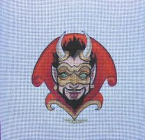 Small Devil Mask by HouseofChabrier