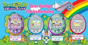 Tamagotchi Clocks by RainboWxMikA