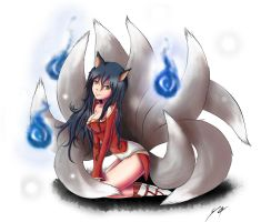 Ahri by Tamrod