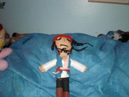 Jack Sparrow Dolly by Sabretooth-Fox