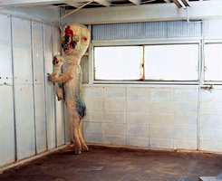 SCP-173 Holding a Baby SCP-173 by PokemonPikmin573
