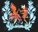Flame Princess in Love by SilviaVanni