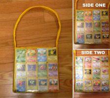 Pokemon Card Purse by hithereflamingo