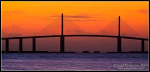 Sunshine Skyway by juddpatterson