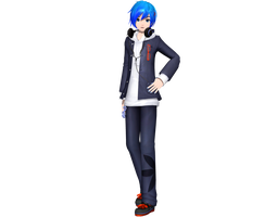 PDAFT School Uniform Parka Kaito by Luke-Flame