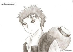 First Gaara Attempt by Addictivemind