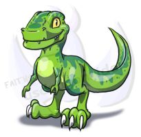 Baby T-Rex by FaithSDK