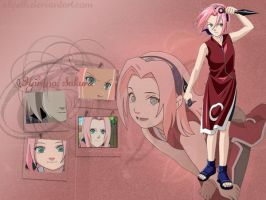 Never look back: Haruno Sakura by Alyeth