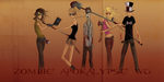 Zombie Apocalypse Flat Share by M-fly