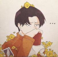 Levi (with Chicks) by MelodicSkies