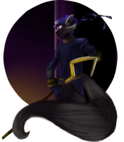 Sly Cooper by X-irus