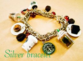 Updated STARBUCKS bracelet by luckymarias
