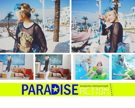 Paradise PSD action by PIMEXTIC