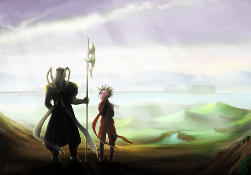 We went the distance by RikaTieck